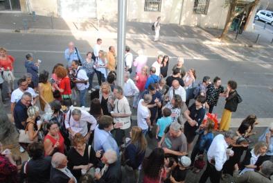 Inaugurazione della nuova sede della Galleria ESDAC di Aix en Provence - foto Silvia C. Turrin
